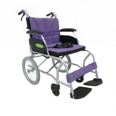 中进 NA-457A(超轻量轮椅)航太折叠轻便 旅游轮椅 便携