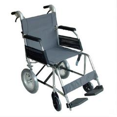 中进 ZA-209航太铝合金轮椅 老年人残疾人代步车家用 便携