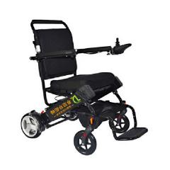 金百合D05老人电动轮椅车可折叠携带轻便锂电池电动轮椅可上飞机