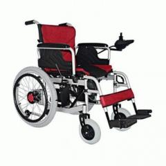 金百合D07老年人残疾人手动电动两用可折叠代步车大轮电动轮椅车