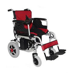 金百合高端D08 残疾人老年人电动代步车铝合金轻便折叠电动轮椅车