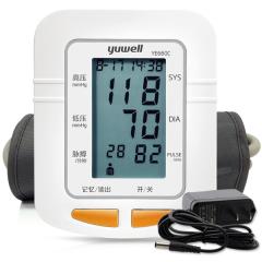 鱼跃电子血压计上臂式YE660C血压表家用全自动血压测量仪