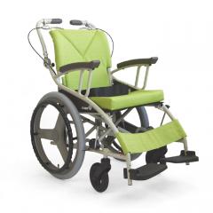 河村一台三用手动轮椅护理型兼自走轮椅 AY18