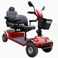 金百合DBX-22双人老年代步车四轮电动豪华型高端长续航助力电动车代步车