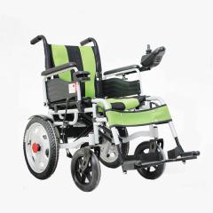 辅森6002 电动轮椅 老人残疾人折叠轮椅 手电一体6002大轮 标配
