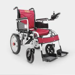 辅森 电动轮椅车可折叠轻便老人代步车 铝合金手电两用6001A