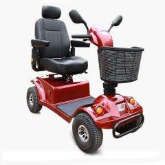 金百合DBX-18老年代步车 老年人电动车 折叠老人四轮代步车