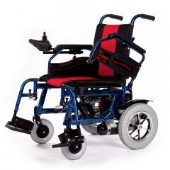 吉芮电动轮椅JRWD602 老人残疾人代步车 铝合金车架折叠 买就送打气筒