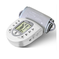 老乐血压计上臂式全自动血压测量仪 微信传输智能语音量血压仪器