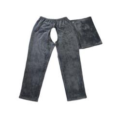 山海康8001老人户外全开型保暖护理长裤 瘫痪病人上下打开加绒加厚长裤