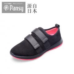 Pansy2018秋季新品妈妈鞋女单鞋3147