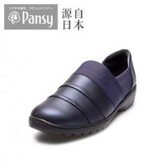 Pansy秋季新品女鞋单鞋妈妈鞋4737