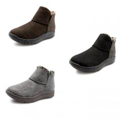 Pansy秋冬季防泼水绒面防浸湿防滑橡胶鞋底吸湿除湿HD3145