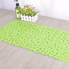 小石头 新潮时尚PVC 浴室防滑垫 洗澡地垫
