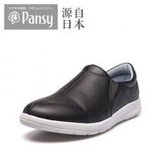 Pansy中老年老人妈妈春女一脚蹬懒人鞋运动鞋休闲鞋HD4001