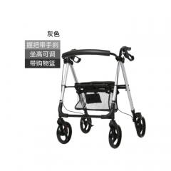 老人手推车可坐轻便折叠四轮购物车 FST9188/YC9188