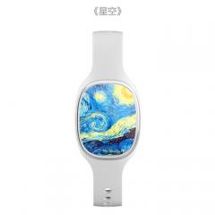 梵高星空手环手表改善睡眠调节身心 智能健康黑科技心率血压女生