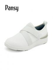 Pansy日系女鞋小白鞋2019新款春秋单鞋百搭透气休闲运动鞋HD3150