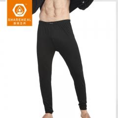 生物质石墨烯SY男士内暖加护贴身长裤