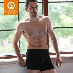 生物质石墨烯男士平角短裤