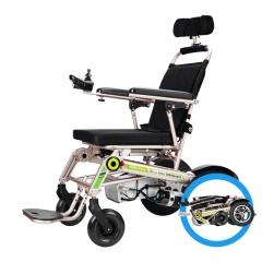 斯维驰老年电动轮椅锂电池全自动智能残疾人老年人代步车轻便折叠