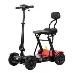 斯维驰老年代步车四轮电动残疾人老人助力电动车接小孩小型电瓶车
