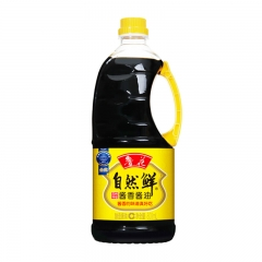 鲁花自然鲜酱香酱油800ml