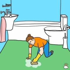 卫生间单独保洁   5平方/100元起   每平方20元起