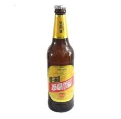 泰山原浆啤酒 180天原浆 12瓶/箱  496毫升/瓶