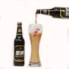泰山原浆啤酒 黑啤  496毫升每瓶
