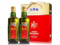 贝蒂斯特级初榨橄榄油750ml礼盒   750ml*2*5
