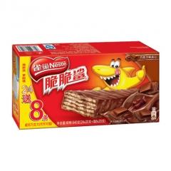 雀巢  脆脆鲨巧克力味威化32条装  30*20克