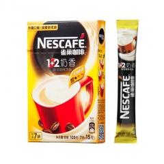雀巢 咖啡1+2奶香味   7*15克
