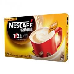 雀巢 咖啡1+2奶香 30*15克