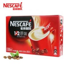 雀巢咖啡1+2原味  30*15克