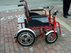可折叠电动轮椅 老年人电动代步车