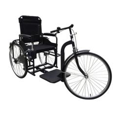 康利残疾人手摇三轮自行车 老人侧平摇人力代步车正品