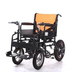 泰合HT101-48电动轮椅 大功率老残病人电动手动车折叠正品热卖