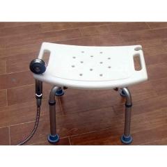 孕妇老年人洗澡凳 铝合金浴室椅防滑淋浴高度可调冲凉凳正品热卖