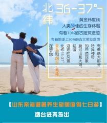 烟台威海青岛半岛旅居度假8日游 定金